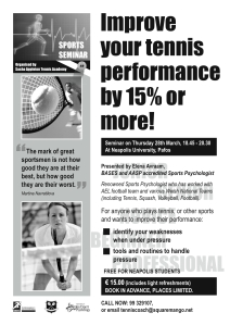 Performance flyer
